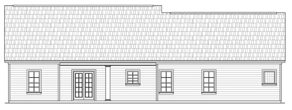 Этот прекрасный проект одноэтажного дома  площадью  до 200 кв.м с гаражом на 2 машины и с 3 спальнями подходит для постоянного проживания.