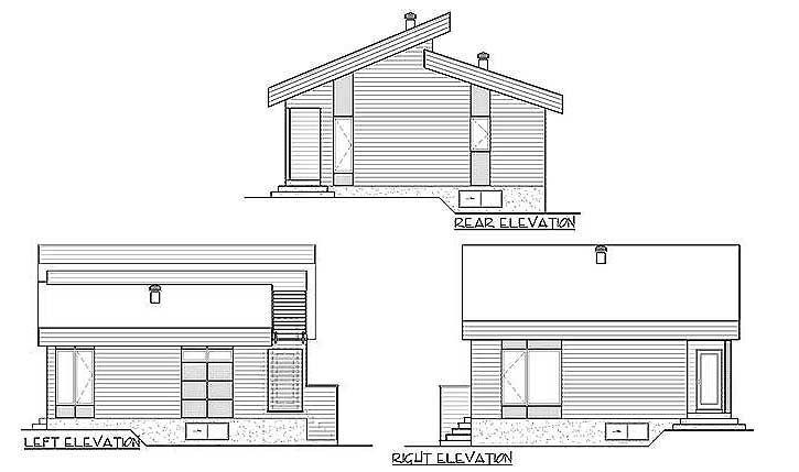 Одноэтажный дом с панорамными окнами в современном стиле 9 на 9 метров площадью  до 100 кв.м с одной спальней и подвалом подходит для постоянного проживания.