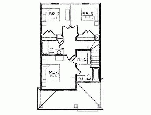 Замечательный проект двухэтажного каркасного дома в дачном стиле 6 на 11 метров площадью  до 150 кв.м с 3 спальнями подходит  для дачи . В большой спальне есть ванная и гардеробная комната. Также перед домом есть веранда..