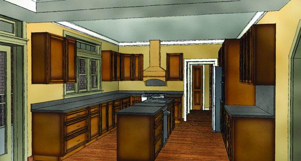 Замечательный проект одноэтажного дома в американском стиле площадью  до 200 кв.м с гаражом на 2 машины и с 3 спальнями подходит для постоянного проживания. Также перед домом есть веранда..