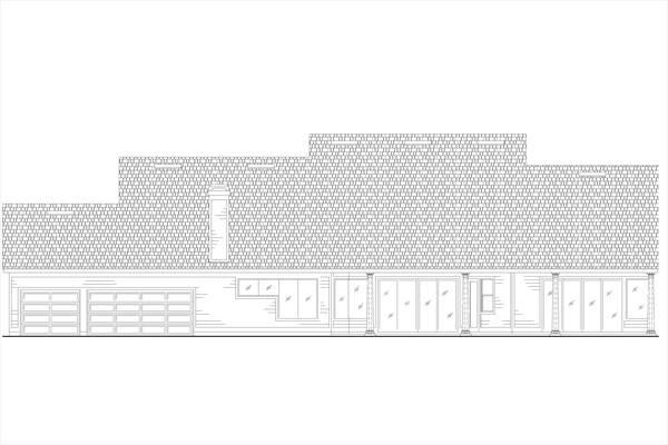 Этот практичный проект одноэтажного дома  площадью  до 250 кв.м с большим гаражом и с 4 спальнями подходит для постоянного проживания. Также перед домом есть веранда..