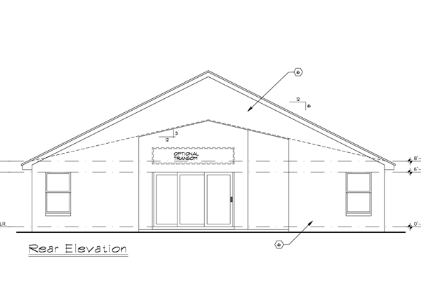Этот популярный проект одноэтажного дома  площадью  до 150 кв.м с гаражом на 2 машины и с 3 спальнями подходит для постоянного проживания. Также сзади дома пристроена веранда..