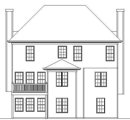 Отличный проект двухэтажного каркасно-кирпичного дома  в английском стиле Тюдор площадью  до 200 кв.м с гаражом на 2 машины и с 3 спальнями подходит для постоянного проживания.