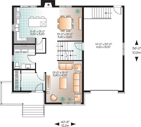 Этот удобный проект двухэтажного каркасного дома в современном стиле 12 на 11 метров площадью  до 200 кв.м с гаражом и с 3 спальнями подходит для постоянного проживания. Также перед домом есть веранда..