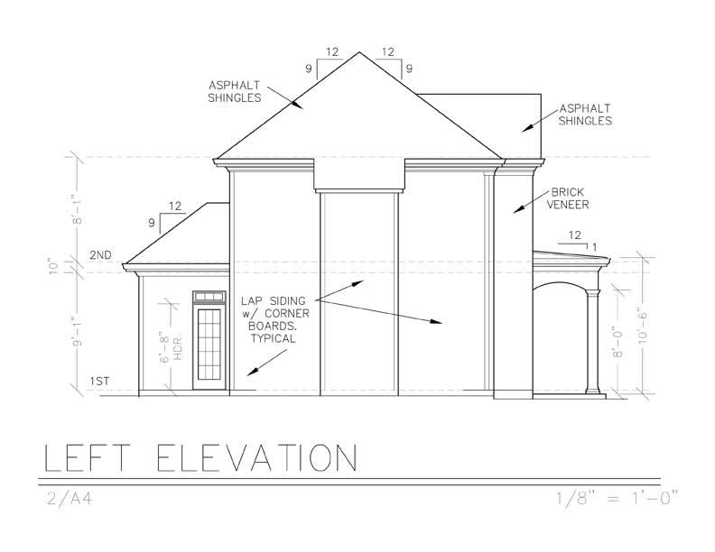 Этот популярный проект двухэтажного каркасного дома 9 метров площадью  до 200 кв.м с 3 спальнями подходит для постоянного проживания. Также перед домом есть веранда..