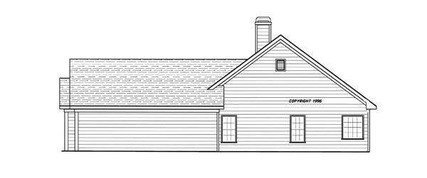 Вид справа План 1-этажного дома 17x18 156 кв м