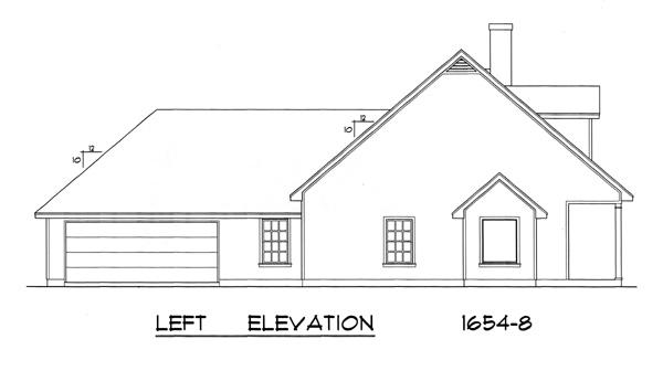 Этот практичный проект одноэтажного дома  площадью  до 200 кв.м с гаражом на 2 машины и с 3 спальнями подходит для постоянного проживания. Также перед домом есть веранда..
