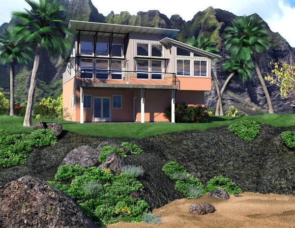 Теплый дом План 2-этажного дома 12x15 м.