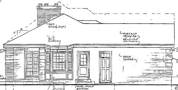 Хорошая планировка План 1-этажного дома 16x14 141 кв м