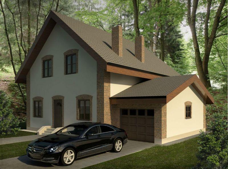 дом с гаражом фото расположения добавил