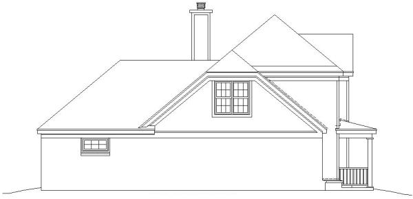 Вид слева План 2-этажного дома 14x15 181 кв м
