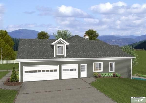 План 1-этажного дома 19x19 186 кв м