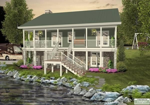 Этот популярный проект одноэтажного дома с мансардой  12 на 12 метров площадью  до 200 кв.м с гаражом на 2 машины и с 2 спальнями подходит для постоянного проживания.