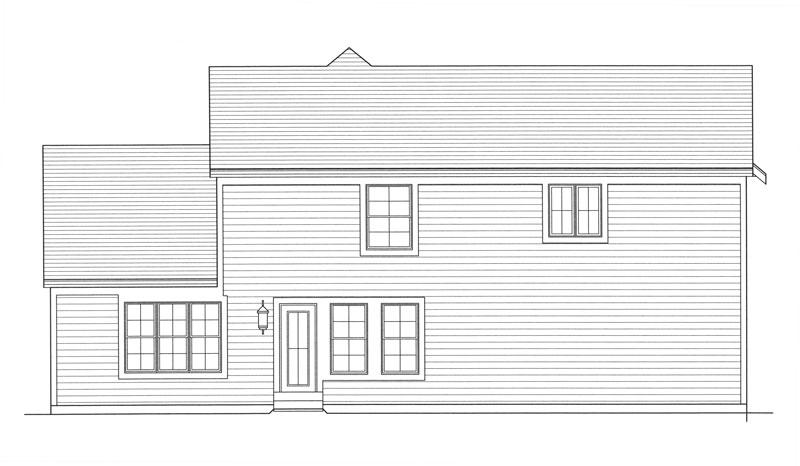 Этот прекрасный проект двухэтажного каркасного дома 10 метров площадью  до 200 кв.м с гаражом на 2 машины и с 3 спальнями подходит для постоянного проживания. В большой спальне есть ванная. Также перед домом есть веранда..