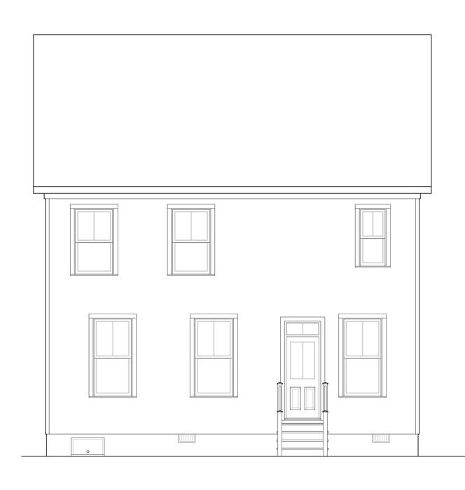 Этот практичный проект двухэтажного каркасного дома  9 на 10 метров площадью  до 200 кв.м с 4 спальнями подходит для постоянного проживания. Также перед домом есть веранда..