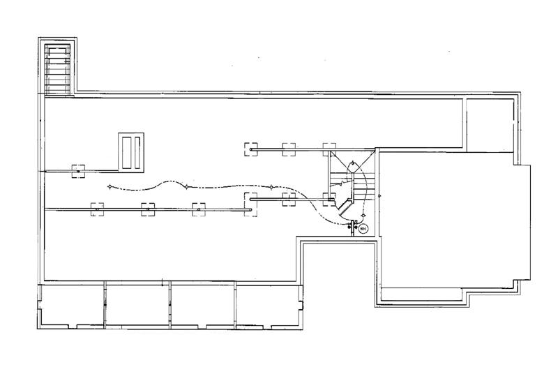 План цокольного этажа План 1-этажного дома 23x11 149 кв м