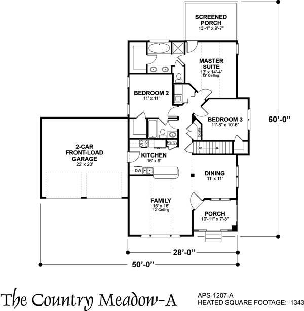 Этот прекрасный проект одноэтажного дома  площадью  до 150 кв.м с гаражом на 2 машины и с 3 спальнями подходит для постоянного проживания. Также перед домом есть веранда..