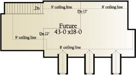 План 2 этажа План 1.5-этажного дома 20x16 185 кв м