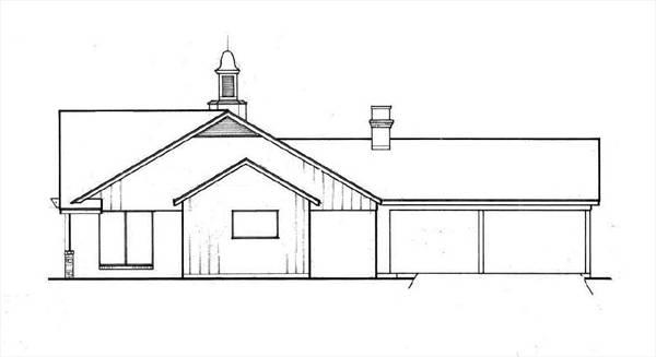Этот симпатичный проект одноэтажного дома  площадью  до 200 кв.м с гаражом на 2 машины и с 4 спальнями подходит для постоянного проживания. Также перед домом есть веранда..