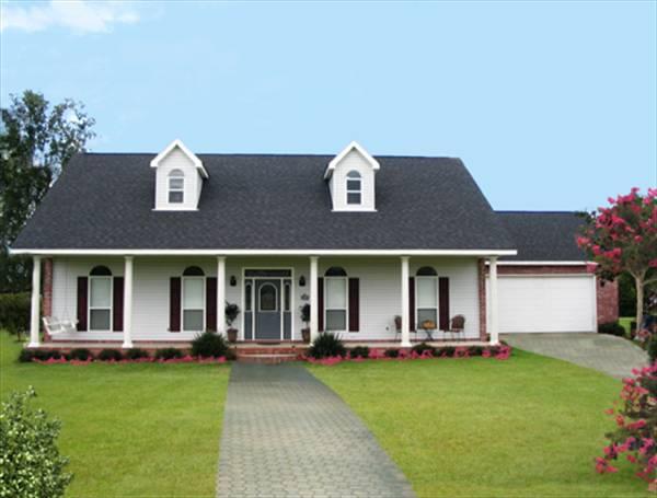 Комфортный дом План 1-этажного дома 13x20 159 кв м