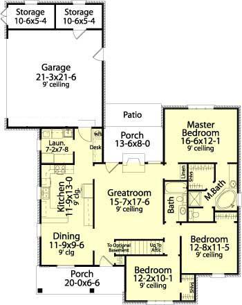 Популярный проект одноэтажного дома  площадью  до 150 кв.м с гаражом на 2 машины и с 3 спальнями подходит для постоянного проживания. Также перед домом есть веранда..