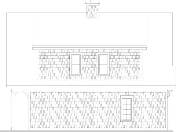 План одноэтажного дома 10x8 с мансардой для экономного строительства