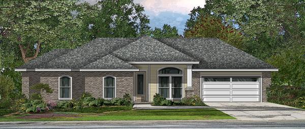 Проект каркасного дома План KD-4215-1-3