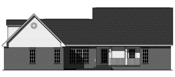 Этот симпатичный проект двухэтажного каркасного дома в стиле прованс площадью  до 200 кв.м с гаражом на 2 машины и с 3 спальнями подходит для постоянного проживания. В большой спальне есть ванная. Также перед домом есть веранда..