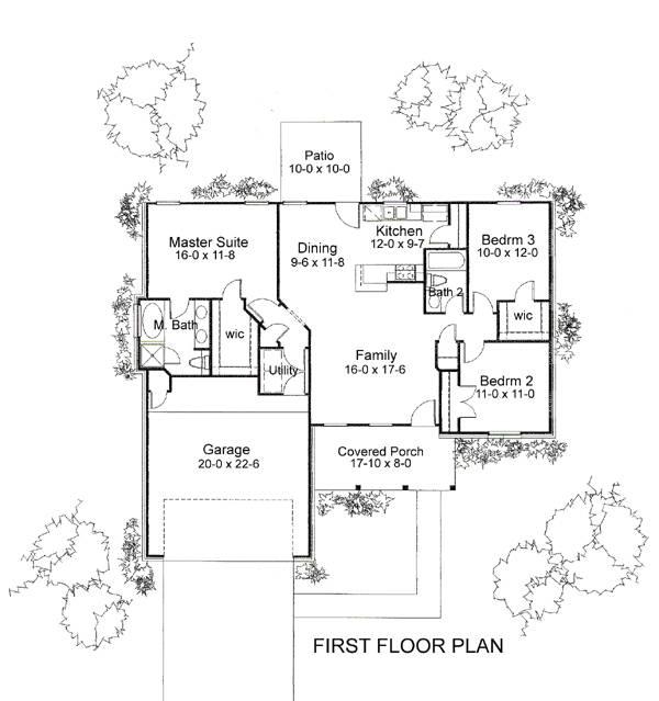 Отличный проект одноэтажного дома в американском стиле площадью  до 150 кв.м с гаражом на 2 машины и с 3 спальнями подходит  для северных регионов . Также перед домом есть веранда..