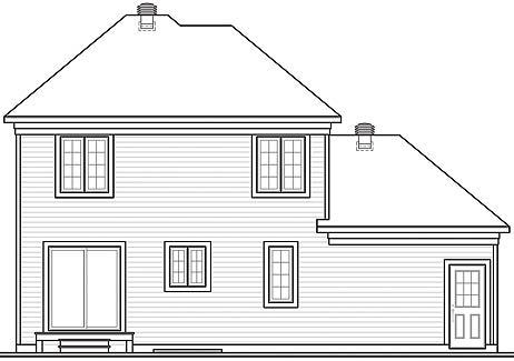 Этот красивый проект двухэтажного каркасного дома  12 на 8 метров площадью  до 150 кв.м с гаражом и с 3 спальнями подходит для постоянного проживания. В большой спальне есть ванная. Также перед домом есть веранда..