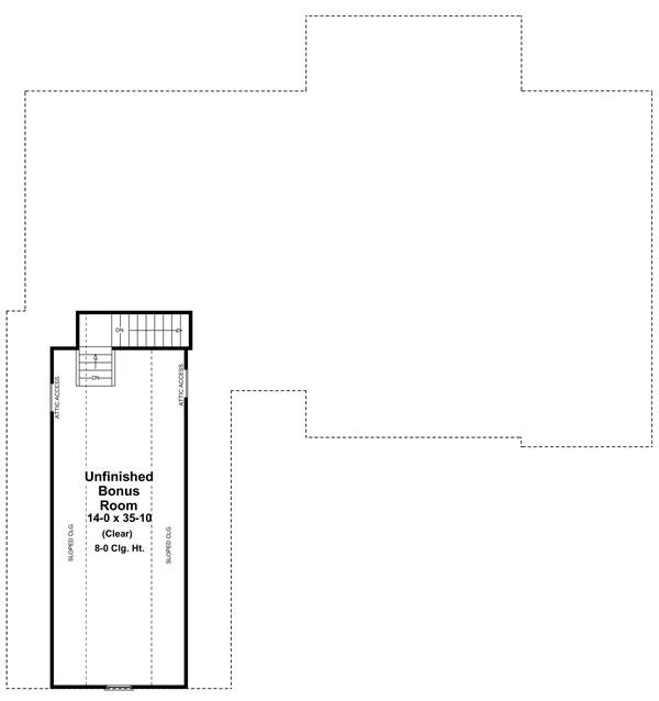 Мансарда Проект одноэтажного дома в стиле прованс с пристроенным гаражом и мансардными окнами