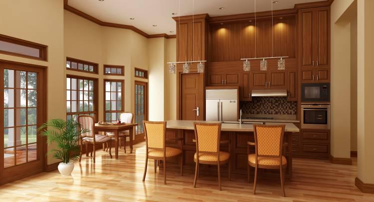 Этот удобный проект одноэтажного дома  площадью  до 200 кв.м с 3 спальнями подходит для постоянного проживания. Также перед домом есть веранда..