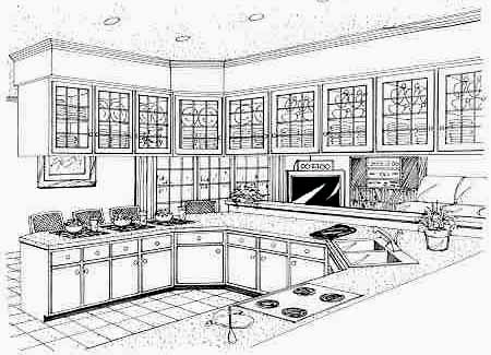 Хорошая планировка План 1-этажного дома 15x22 158 кв м