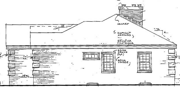 Красивый дом План 1-этажного дома 16x14 141 кв м
