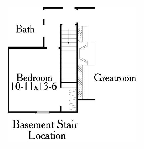 Этот прекрасный проект одноэтажного дома  площадью  до 200 кв.м с гаражом на 2 машины и 3 спальнями подходит для постоянного проживания. В большой спальне есть ванная. Также перед домом есть веранда..