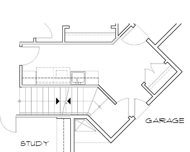 Этот практичный проект одноэтажного дома в европейском стиле площадью 276 кв.м с большим гаражом и с 4 спальнями подходит для постоянного проживания. В большой спальне есть ванная.