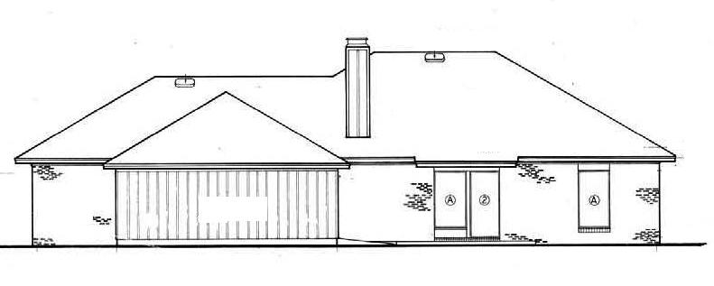 План 1-этажного дома 174 кв м