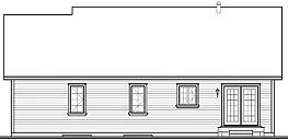 This Scandinavian house facade has mixed materials, shuttered windows, gable windows and faced with fiber cement siding. A complex roof with large front facing gables completes the look of this house. House plan is 45 feet wide by 36 feet deep and provides 1535 square feet of living space Space includes an airlock entry foyer, Foyer, with a walk-in closet, Great Room, overlooking both floors, with a cozy fireplace, a Dining Room, with french doors leading to the rear porch, a Kitchen, the Master Bedroom, with a spacious walk-in closet, additional Bedrooms, with a walk-in closet, with the spacious bathroom, where you'll find a big shower, separate tub, and more.. An open layout maximizes the use of the living space. Outdoor living space includes deck.