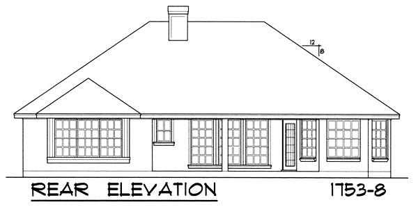 Этот прекрасный проект одноэтажного дома  площадью  до 200 кв.м с гаражом на 2 машины и с 3 спальнями подходит для постоянного проживания. В большой спальне есть ванная. Также перед домом есть веранда..