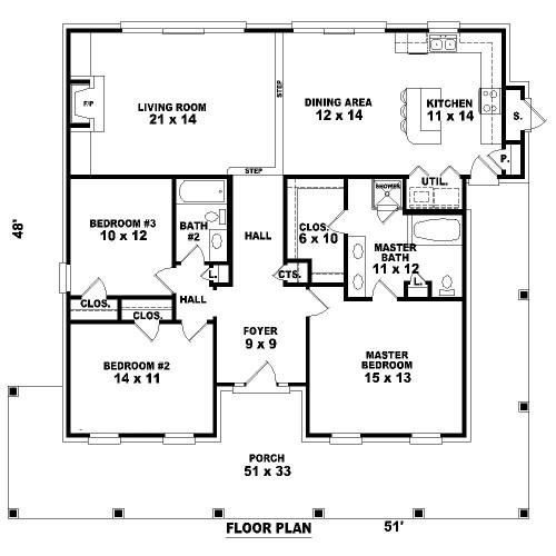 План 1 этажа План 1-этажного дома 16x15 155 кв м