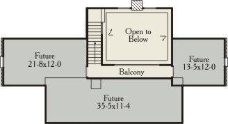 План 2 этажа План одноэтажного каркасного дома с мансардой без планировки  226 кв м