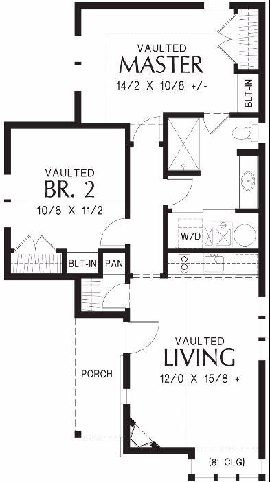 Проект 1 этажного дома в сказочном стиле обязательно привлечет внимание соседей и друзей. Площадь этого дома всего 73 кв.м. Можно использовать как гостевой дом с баней.