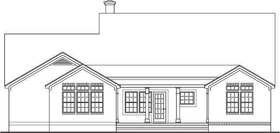 Уютный дом План 1-этажного дома 19x19 183 кв м