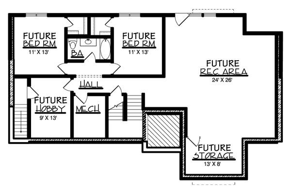 План цокольного этажа План 1-этажного дома  160 кв м