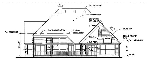 Этот практичный проект одноэтажного дома  площадью  до 200 кв.м с гаражом на 2 машины и с 3 спальнями подходит для постоянного проживания. В проекте дома есть терраса..