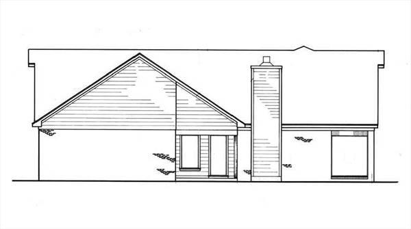 Интересный проект одноэтажного дома  площадью  до 200 кв.м с гаражом на 2 машины и с 3 спальнями подходит для постоянного проживания. Также сзади дома пристроена веранда..