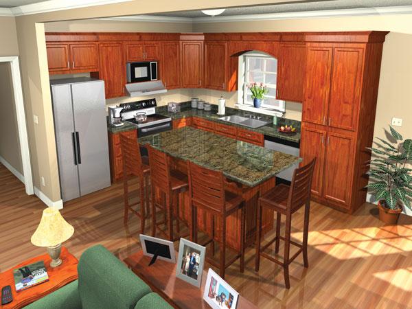 Хорошая планировка План 1-этажного дома 15x19 151 кв м