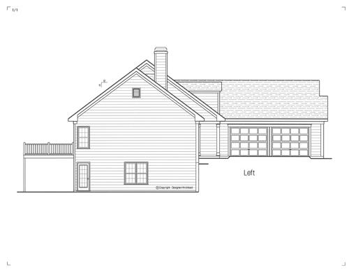 Этот практичный проект одноэтажного дома  площадью  до 200 кв.м с гаражом на 2 машины и с 2 спальнями подходит  строительства дома с цокольным этажом на участке с уклоном и  для строительства дома с цокольным этажом на склоне . В большой спальне есть ванная. В проекте дома есть терраса..