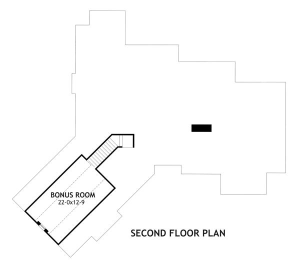 Этот привлекательный проект двухэтажного каркасного дома  площадью  до 200 кв.м с гаражом на 2 машины и с 3 спальнями подходит для строительства дома с цокольным этажом на участке с уклоном.