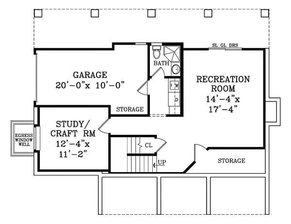 План цокольного этажа Проект 2-этажного дома 13x11 209 кв м